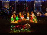 Christmas Light Hanging atlanta where to Buy Blow Mold Yard Decorations