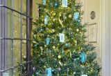 Christmas Light Hanging Service atlanta Holiday Home Dressed In Shades Of Blue Traditional Home