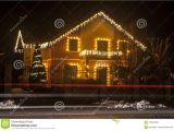 Christmas Light Show In atlanta House with Christmas Lights Stock Photo Image Of December Pine