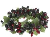 Christmas Pip Berry Candle Rings Icy Holiday Pip Berry Candle Ring Candles and