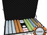 Clay Poker Chip Sets 1000 1000 14g Monte Carlo Poker Club Casino Clay Poker Chips