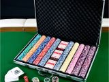 Clay Poker Chip Sets 1000 Texas Bullets 13 5g 1000 Clay Poker Chips Set Clay Poker