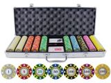 Clay Poker Chip Sets Amazon 500 Piece Stripe Suited V2 Clay Poker Chips Set Best Price