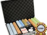 Clay Poker Chip Sets Amazon 650pc 14g Monte Carlo Poker Club Clay Poker Chips Set with