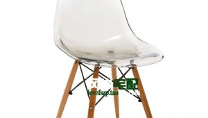 Clear Plastic Chairs From Ikea Eames Chair Crystal Clear Acrylic Plastic Chairs Ikea