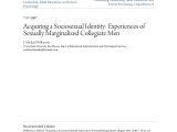 College Of Marin Counseling Appointment Pdf Acquiring A sociosexual Identity Experiences Of Sexually