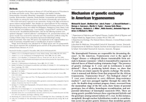College Of Marin Library Catalog Pdf Mechanism Of Genetic Exchange In American Trypanosomes