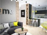 Colores Para Pintar Sala Comedor Y Cocina Juntos Projekt Mieszkania W Warszawie Salon Styl Industrialny Zdja Cie
