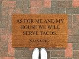 Come Back with Tacos Doormat Food Drink Collection Tagged Housewarming Gift Nine to Wine