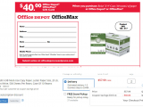 Comenity Bank Pre Approval Link Dead Office Depot Max Purchase 2 Pack Of 10 Ream Paper for 55 98
