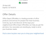 Comenity Bank Pre Approval Link Expired Chase Offers 10 Back at Office Depot Max Up to 10