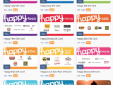 Comenity Bank Store Card Pre Approval Metabank Releases New Happy Gift Card Line Alongside their