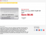 Comenity Bank Visa Pre Approval Expired Staples Fee Free 200 Visa Gift Cards In Store 9 2 9 8