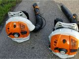 Commercial Backpack Blower Comparison Stihl Br700 Vs Br700x Strongest Commercial Backpack Blower