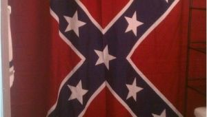 Confederate Flag Shower Curtain Confederate Rebel Battle Flag Shower Curtain 70 X 72 Inches