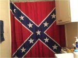 Confederate Flag Shower Curtain Rebel Flag Shower Curtain Rebel Nation