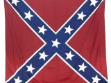 Confederate Flag Shower Curtain Red Blue and White Rebel Confederate Flag Bath Shower