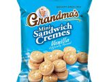 Cookie Delivery Bryan College Station Amazon Com Grandma S Mini Cookies Vanilla Cra Me 3 71 Ounce Pack