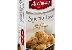 Cookie Delivery Bryan College Station Archway original Coconut Macaroon Cookies 10 Oz Walmart Com