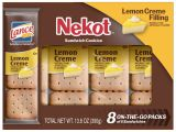 Cookie Delivery Bryan College Station Lance Nekot Lemon Creme Sandwich Cookies 8 Ct Walmart Com