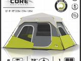 Core 6 Person Instant Cabin Tent Reviews Core 6 Person Tent Instant Cabin Core Tents Camp Stuffs