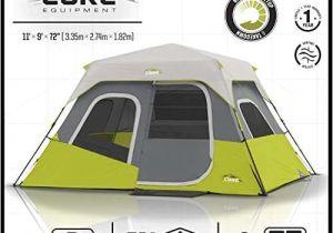 Core 6 Person Instant Cabin Tent Reviews Core 6 Person Tent Instant Cabin Core Tents Camp Stuffs