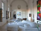 Corinthian Wynn Sectional and Ottoman Modular sofa Contemporary Fabric On the Rocks by Francesco