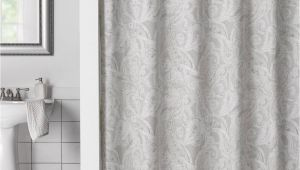 Cortinas De Bano En Walmart Product Image for Flatiron Linen Paisley Shower Curtain Bathroom