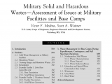 County Waste In Middletown Ny Pdf Military solid and Hazardous Waste assessment Of issues at