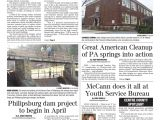 County Waste Lewis Road Chester Va Centre County Gazette March 17 2016 by Indiana Printing