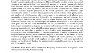 County Waste Residential Chester Va Pdf Sustainable Airport Waste Management the Case Of Kansai