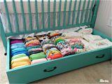 Crib with Storage Drawer Underneath Diy Nursery Build A Trundle Drawer Baby Crib Pinterest