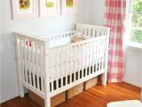 Crib with Storage Drawer Underneath Under Crib Storage though I M Not Sure there is even Room Under