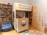 Cribs with Storage Underneath Violet S Room Offers A Natural Wood solution for Two the Littlest