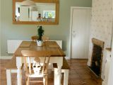 Cromarty Farrow and Ball Homebase Country Inspired Dining Room Beam Fire Place Cream Country Pine