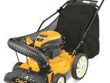 Cub Cadet Chipper Shredder Vacuum Csv 050 Cub Cadet 1 5 In 159cc Gas Chipper Shredder Vacuum Ebay