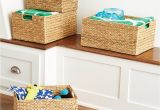 Cube Storage Bins 13x15x13 Decorative Baskets Wicker Baskets Storage Bins the Container Store