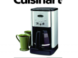 Cuisinart Coffee Maker Self Clean Self Cleaning Cuisinart Coffee Maker Instructions Irbrida