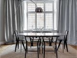 Curtain Length Rule Of Thumb How to Choose A Dining Table Shape Size and More Ylighting Ideas
