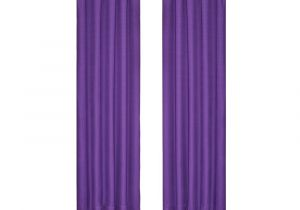 Curtains and Drapes at Lowes Eclipse Kendall Blackout Purple Curtain Panel 63 In Length