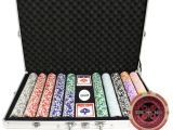 Custom Clay Poker Chip Sets 1000 14g Ultimate Casino Table Clay Poker Chips Set Custom