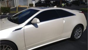 Custom Window Tinting Pompano Beach Fl Cadillac Cts 2 Dr Coupe with Llumar Ctx 30 Ceramatrix A