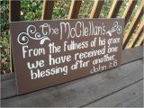 Custom Wood Bible Verse Signs 24 Quot Custom Personalized Family Name Bible Verse Wood Sign