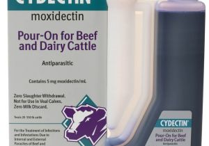 Cydectin Dosage for Goats Cydectin Pour On for Beef Dairy Cattle Bayer Pour On Ivermectins