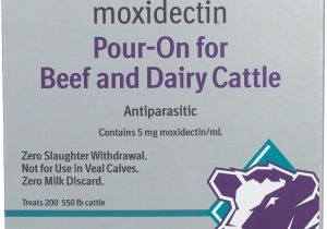 Cydectin Dosage for Goats Cydectin Pour On
