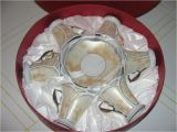 D Lusso Home Collection D 39 Lusso Home Collection Cups and Saucers In Round Box