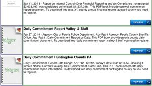 Daily Commitment Report In Peoria Il Daily Commitment Chicago Ebook