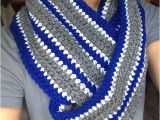Dallas Cowboys Colors Yarn Dallas Cowboys Inspired Infinity Scarf Extra Wide Football