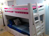 Daybed that Converts to A Queen Custom Loft Bed Built to Wrap the Ikea Hemnes Daybed Kids Room