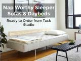 Daybed that Converts to Queen Nap Worthy Sleeper sofas Daybeds From Tuck Studio
